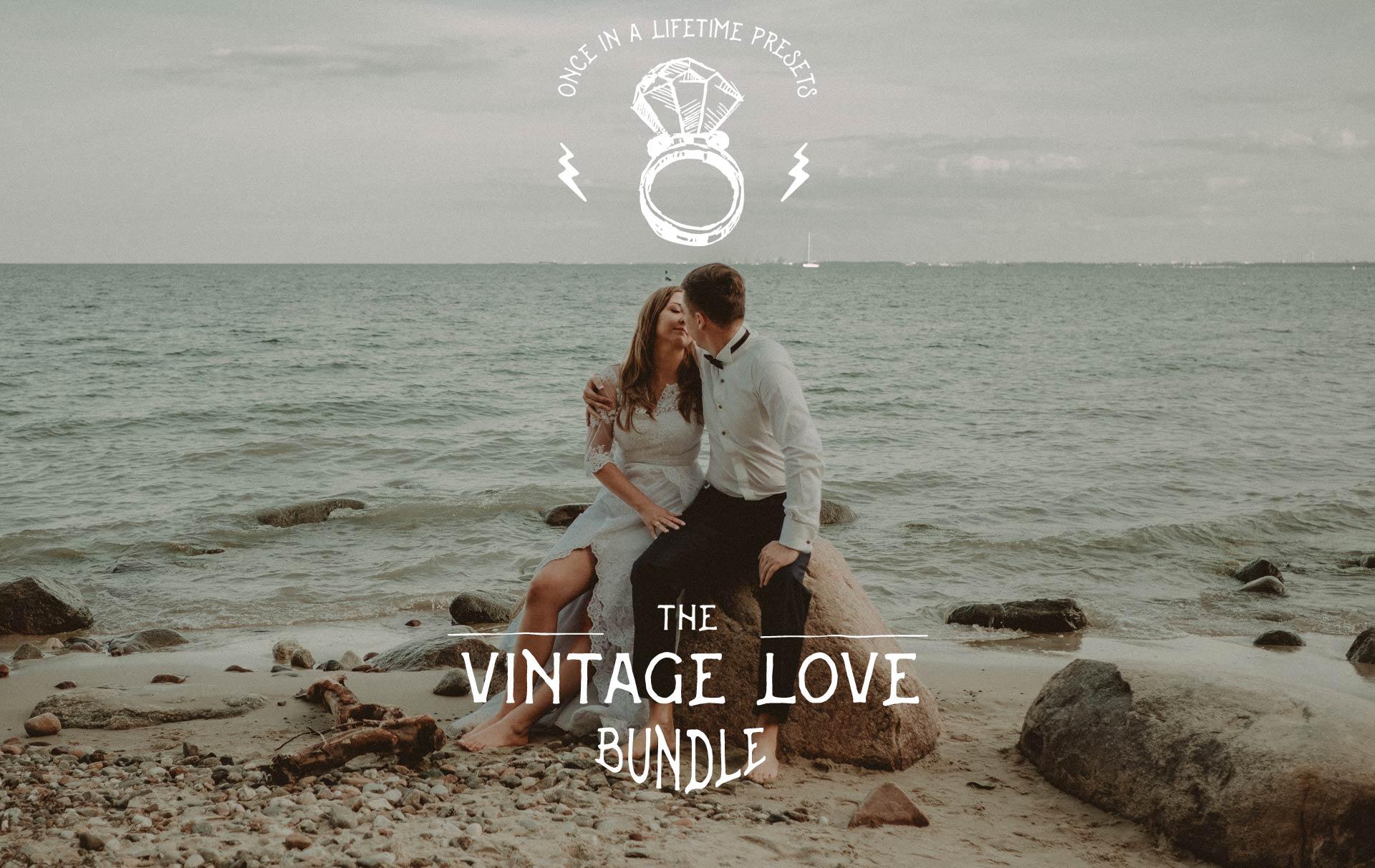 vintage love bundle wedding presets