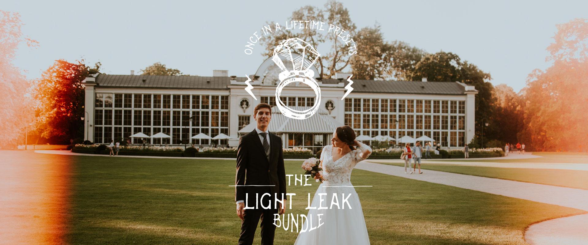banner light leak lr preset