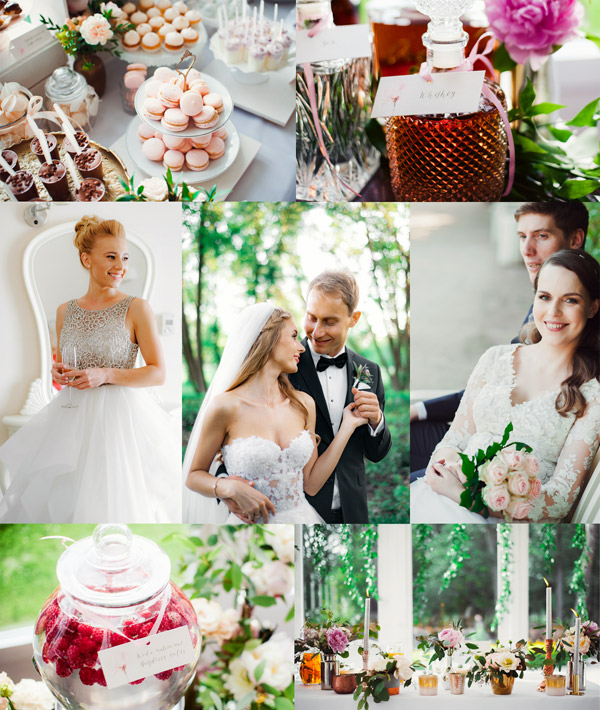 warm tones wedding presets