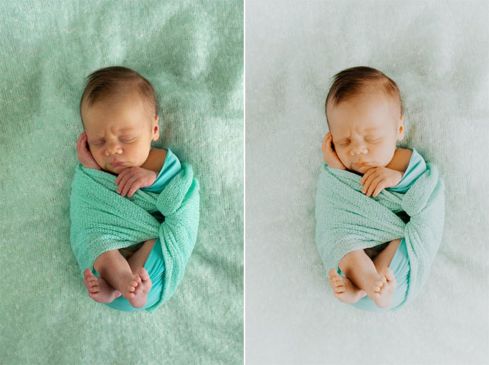 newborn presety